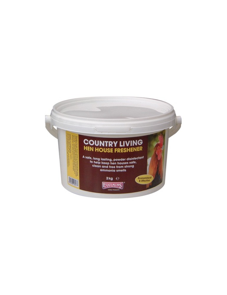 Equimins Country Living Hen House Freshener - Dry Disinfectant Powder **