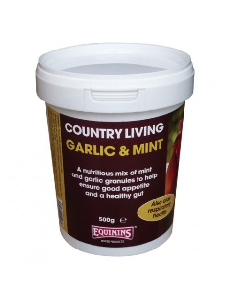 Equimins Country Living Garlic & Mint